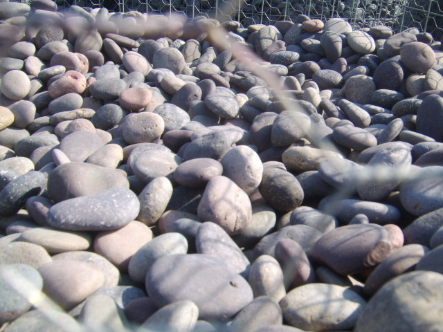 Nashville Mexican  River Pebbles Colorful round