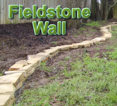 How to Build a Nashville Fieldstone Wall.