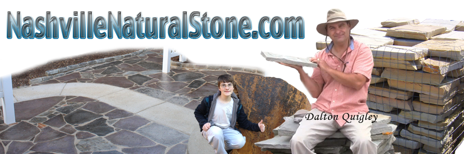 Nashville Stone where you find Nashville Natural Stone Products