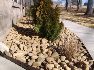 Nashville Natural stone Landscaping ideas with stone.
