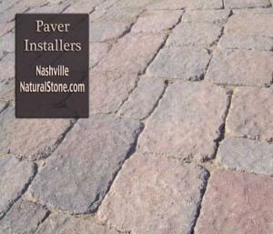 Landscaping ideas with stone. Nashville stone pavers